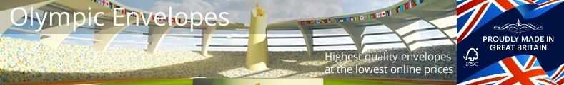 Olympic Coloured Envelopes