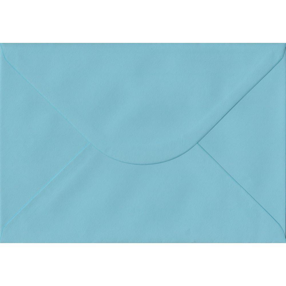 100 A5 Blue Envelopes. Blue. 162mm x 229mm. 100gsm paper. Gummed Flap.