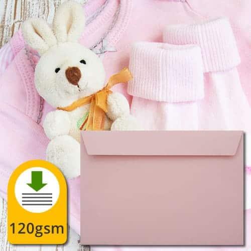 Baby Pink Luxury Envelopes