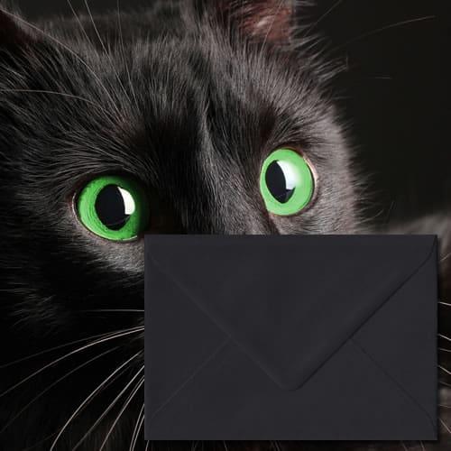 Matt Black Colour Envelopes