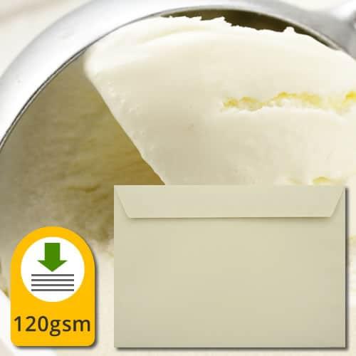 Clotted Cream Luxury Envelopes