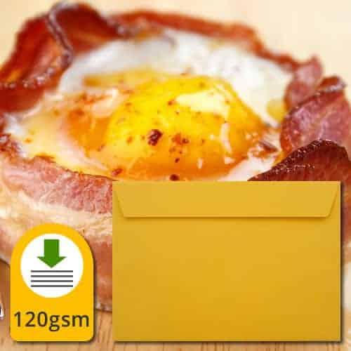 Egg Yellow Luxury Envelopes