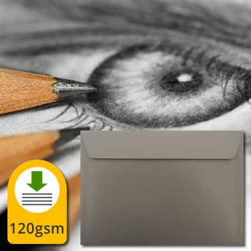 Graphite Grey Luxury Envelopes