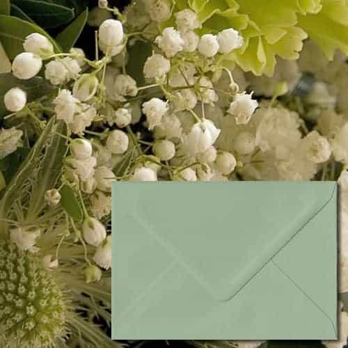 Heritage Green Luxury Envelopes