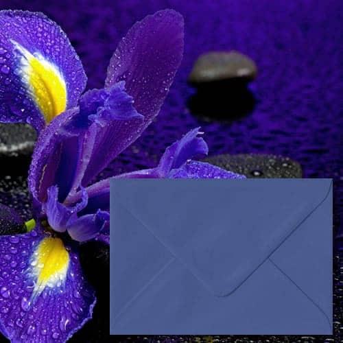 Iris Blue Colour Envelopes