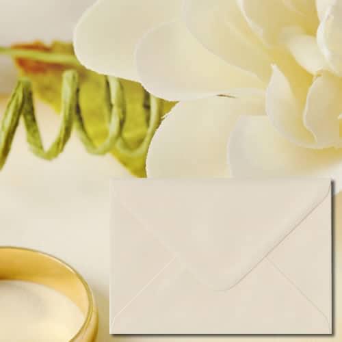 Ivory Cream Colour Envelopes