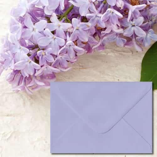Lilac Coloured Envelopes