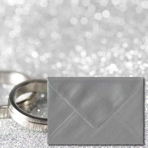 Silver Colour Envelopes