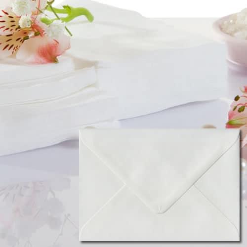 White Laid Envelopes