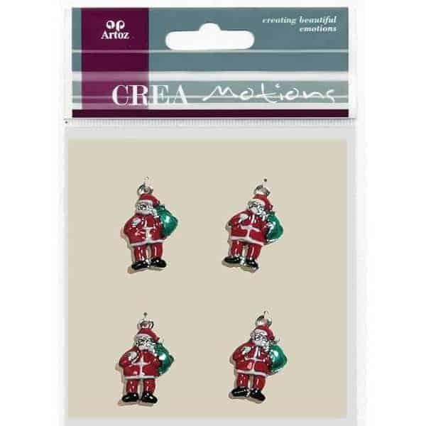 Santa Charms By Artoz