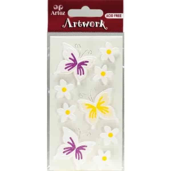 Butterfly Craft Embellishment By Artoz