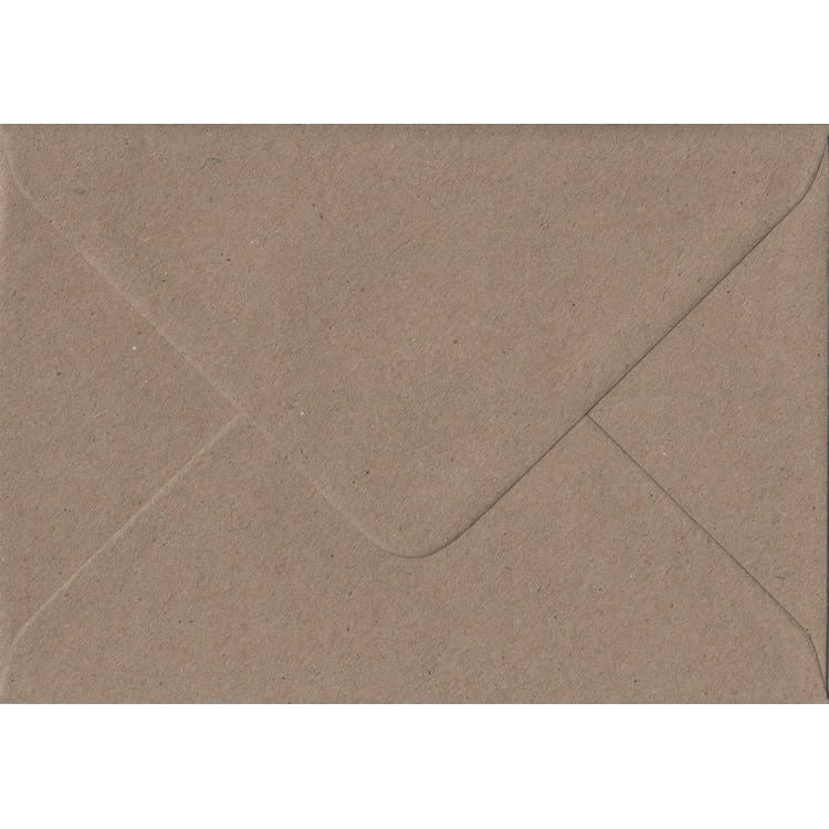 Fleck Craft Recycled Gummed C6 114mm x 162mm Individual Coloured Envelope