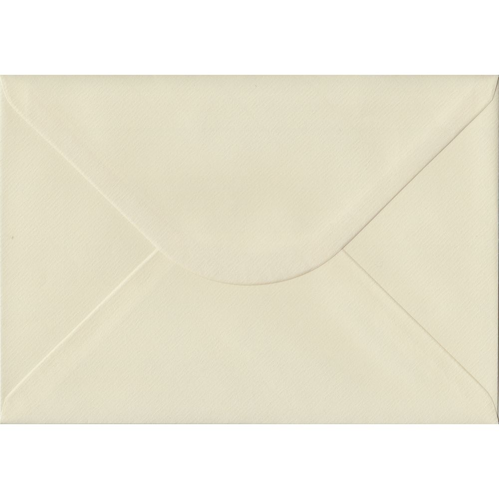 Ivory Laid Textured Gummed C5 162mm x 229mm Individual Coloured Envelope