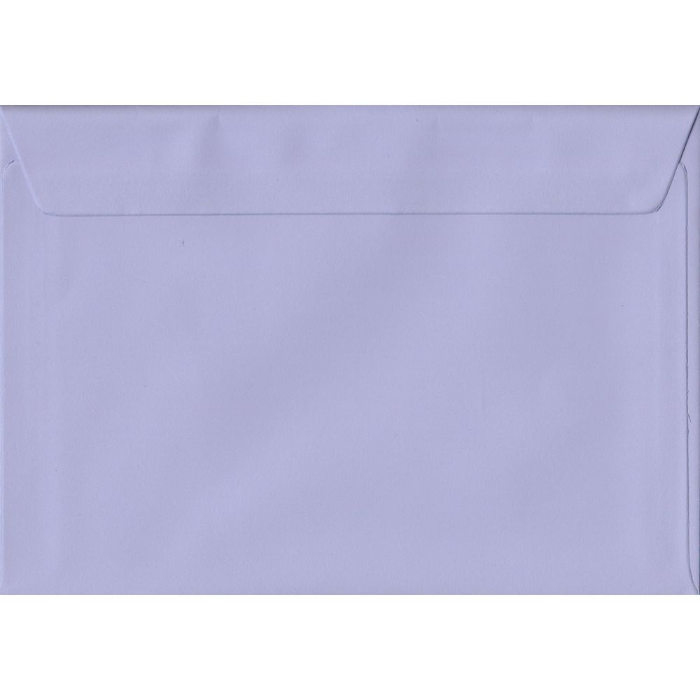 Lilac Pastel Peel And Seal C6 114mm x 162mm Individual Coloured Envelope