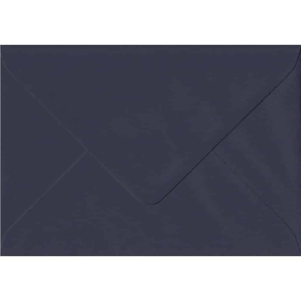 Imperial Navy Blue Gummed C6 114mm x 162mm Individual Coloured Envelope