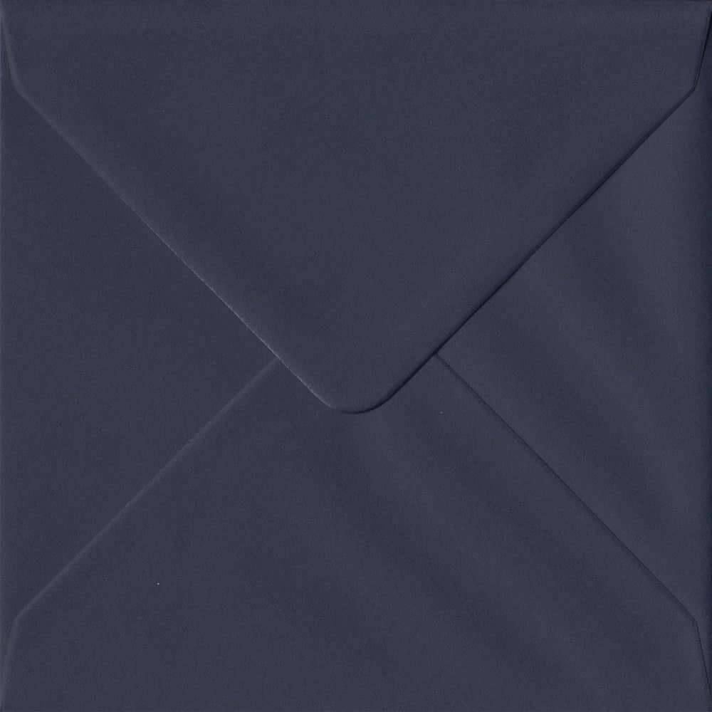 Imperial Navy Blue Gummed S4 155mm x 155mm Individual Coloured Envelope