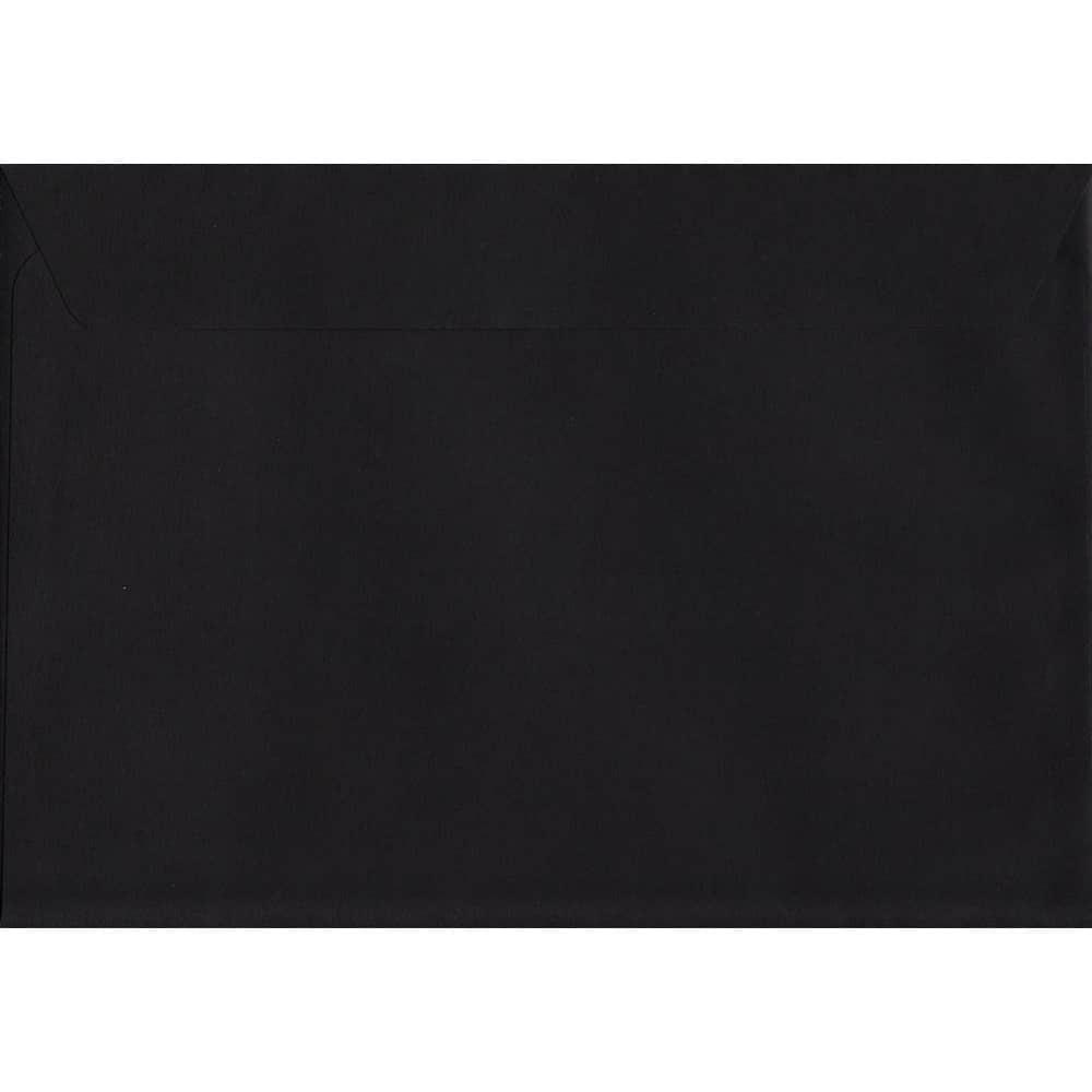 Black Peel/Seal C5 162mm x 229mm 120gsm Luxury Coloured Envelope