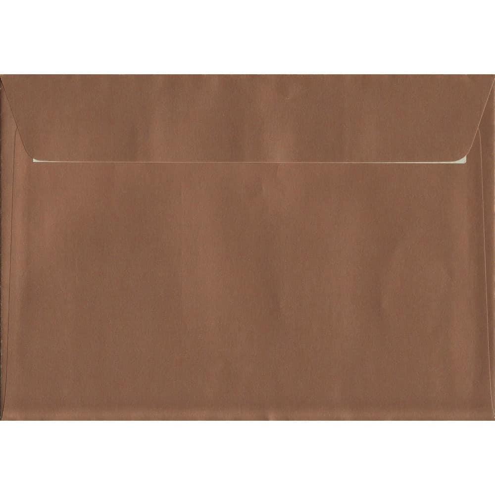 Copper Peel/Seal C5 162mm x 229mm 130gsm Luxury Coloured Envelope