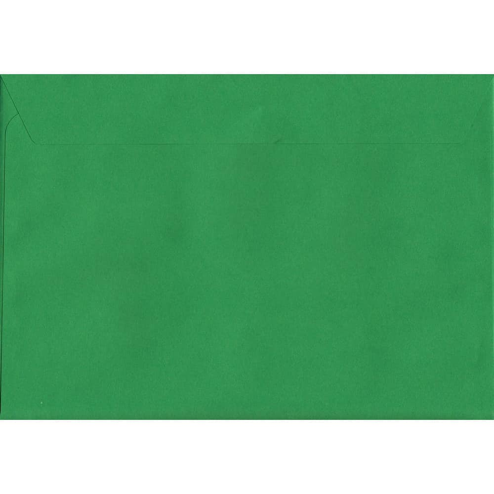Holly Green Peel/Seal C5 162mm x 229mm 120gsm Luxury Coloured Envelope