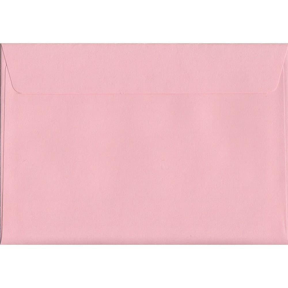 Baby Pink Peel/Seal C6 114mm x 162mm 120gsm Luxury Coloured Envelope