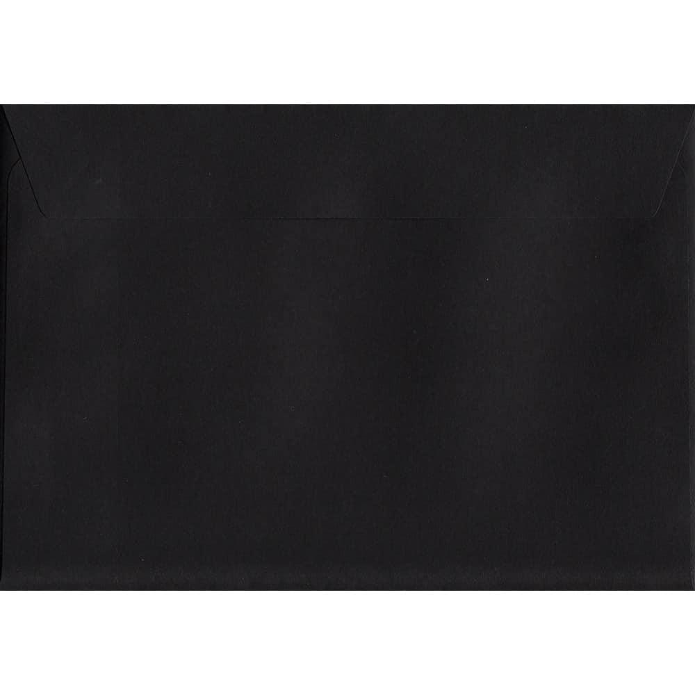 Black Peel/Seal C6 114mm x 162mm 120gsm Luxury Coloured Envelope