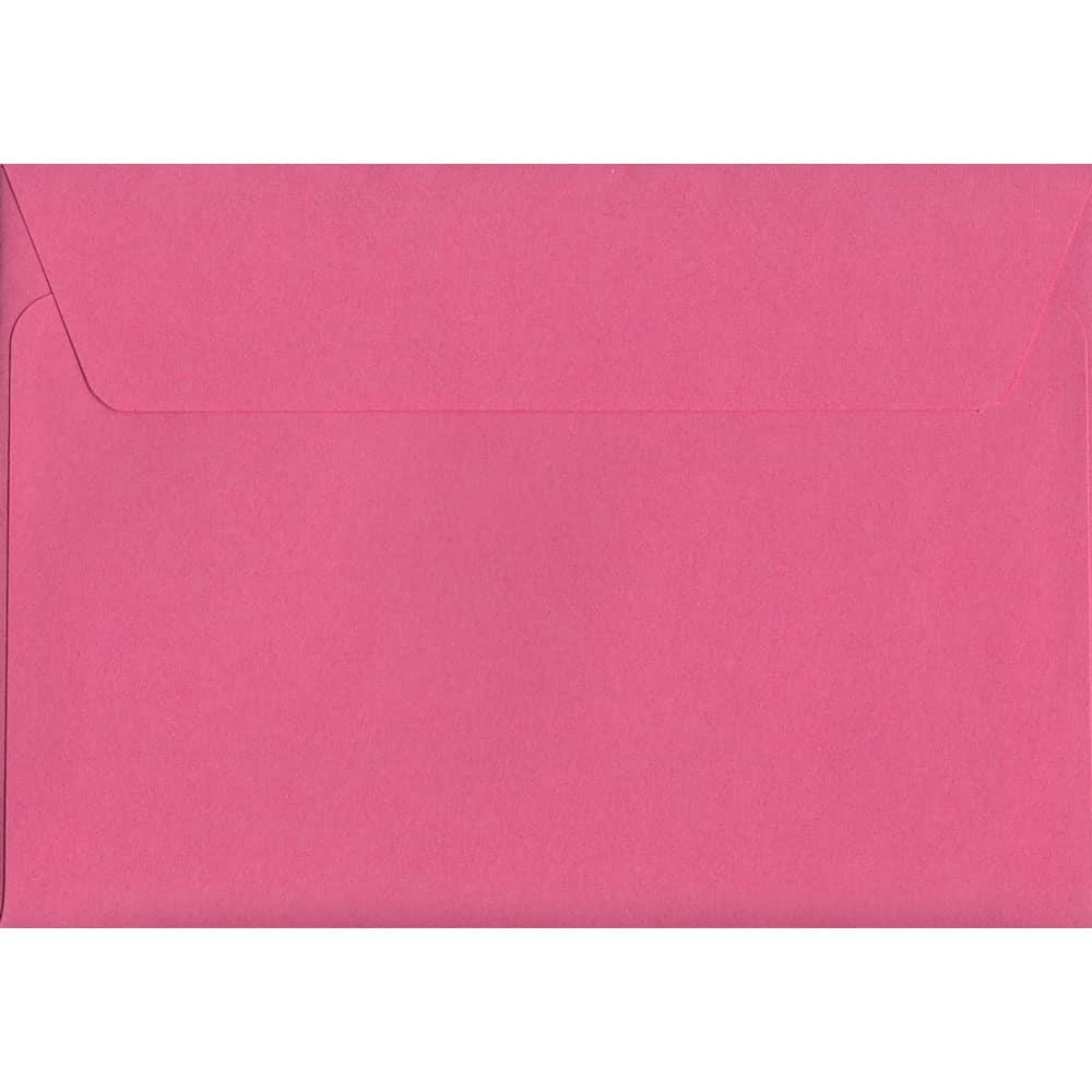 Cerise Pink Peel/Seal C6 114mm x 162mm 120gsm Luxury Coloured Envelope