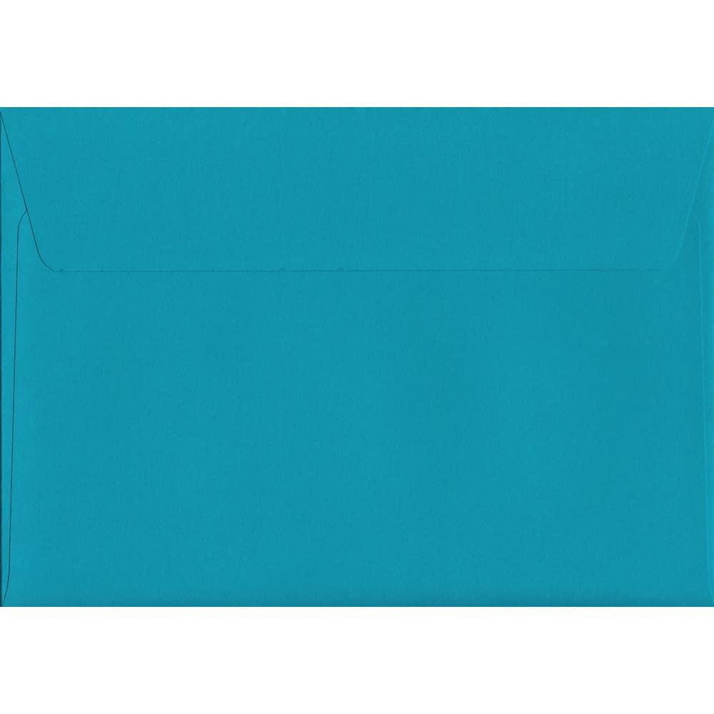 Caribbean Blue Peel/Seal C6 114mm x 162mm 120gsm Luxury Coloured Envelope