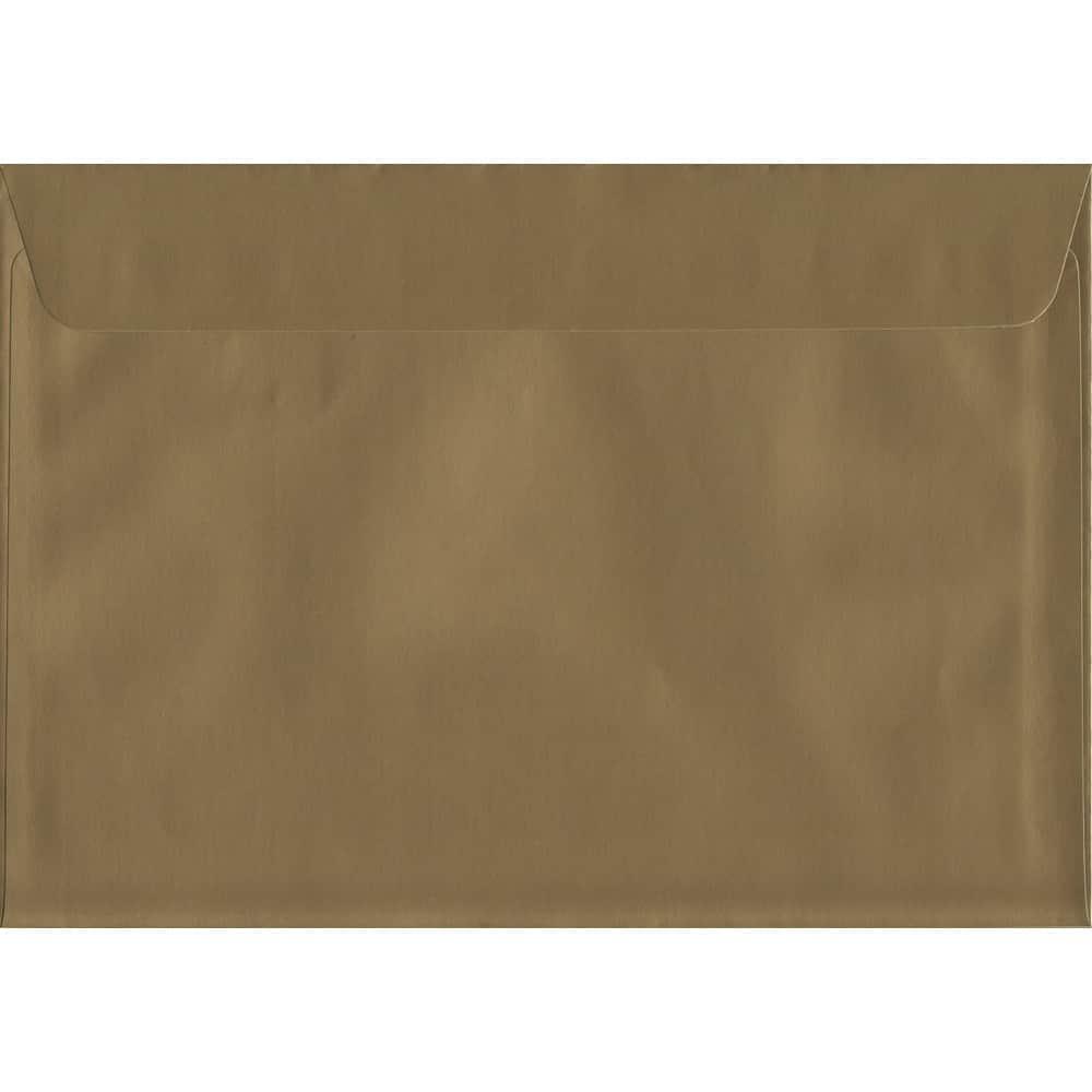 Metallic Gold Peel/Seal C6 114mm x 162mm 130gsm Luxury Coloured Envelope