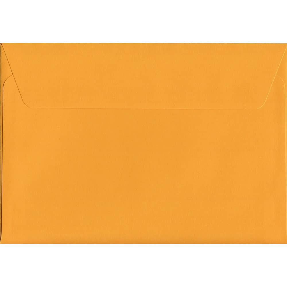 Golden Yellow Peel/Seal C6 114mm x 162mm 120gsm Luxury Coloured Envelope