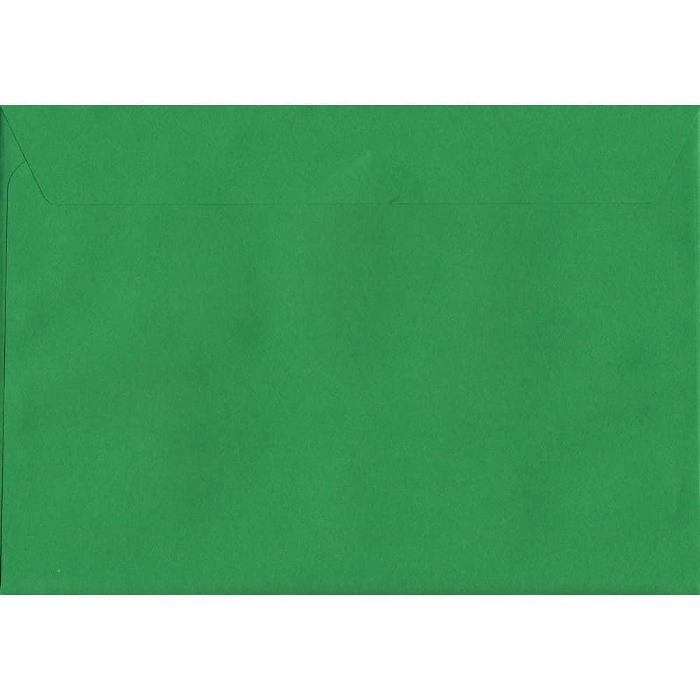 Holly Green Peel/Seal C6 114mm x 162mm 120gsm Luxury Coloured Envelope