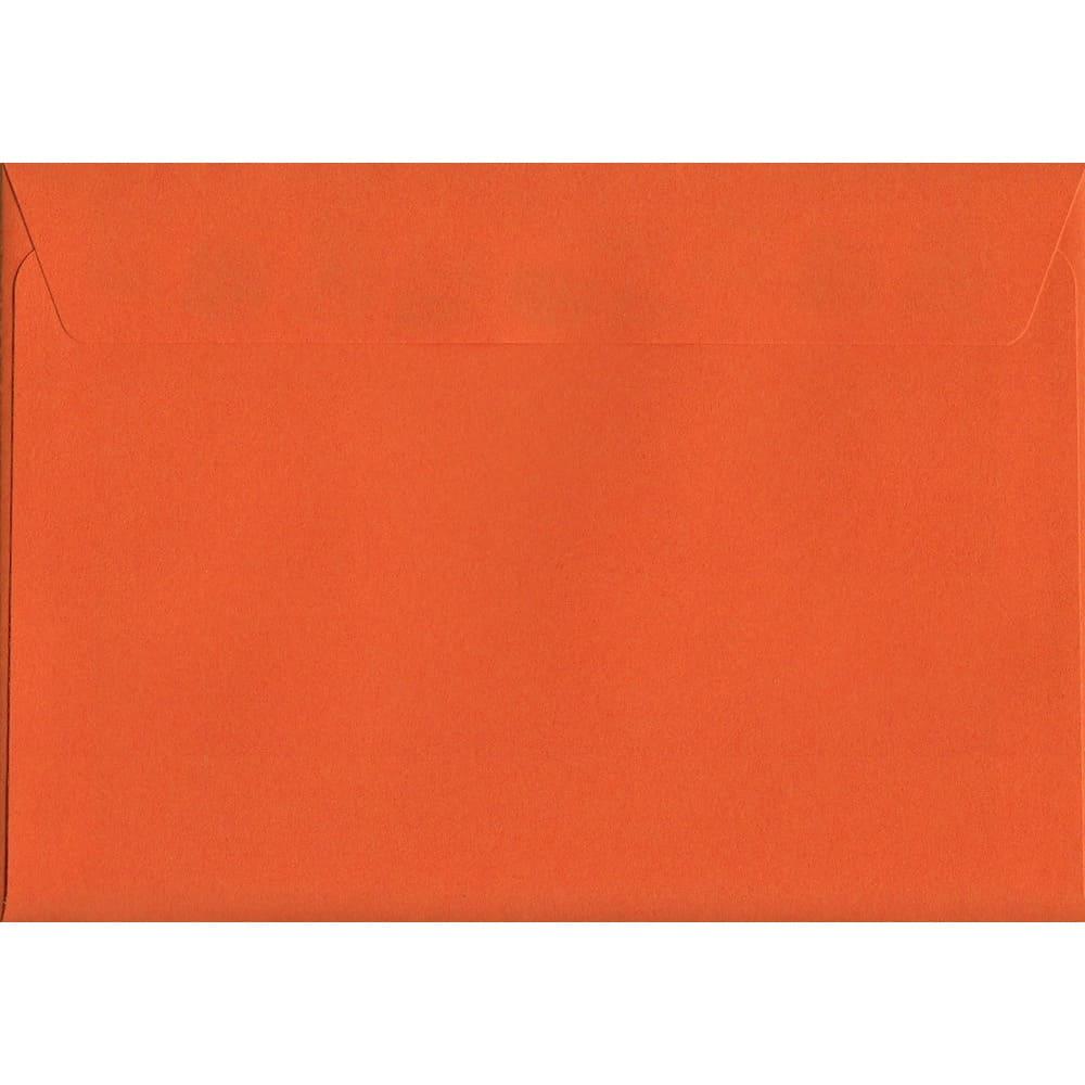 Sunset Orange Peel/Seal C6 114mm x 162mm 120gsm Luxury Coloured Envelope