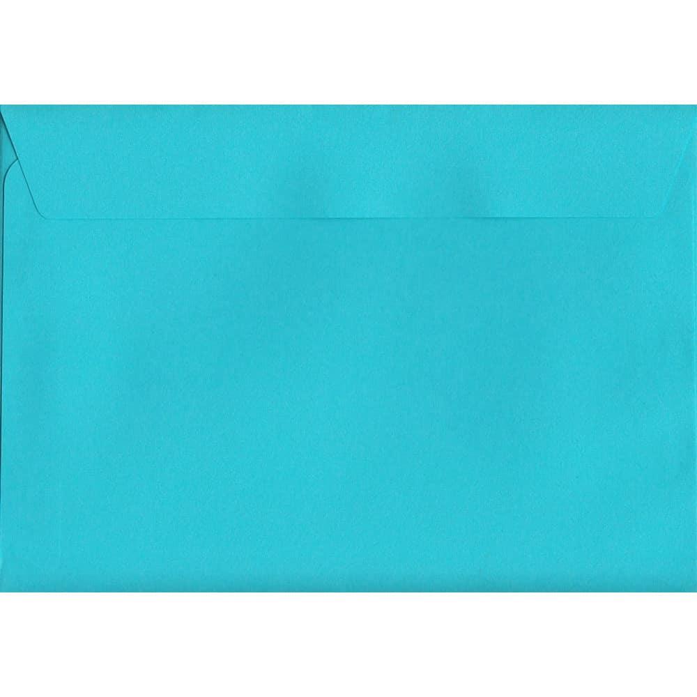 Cocktail Blue Peel/Seal C6 114mm x 162mm 120gsm Luxury Coloured Envelope