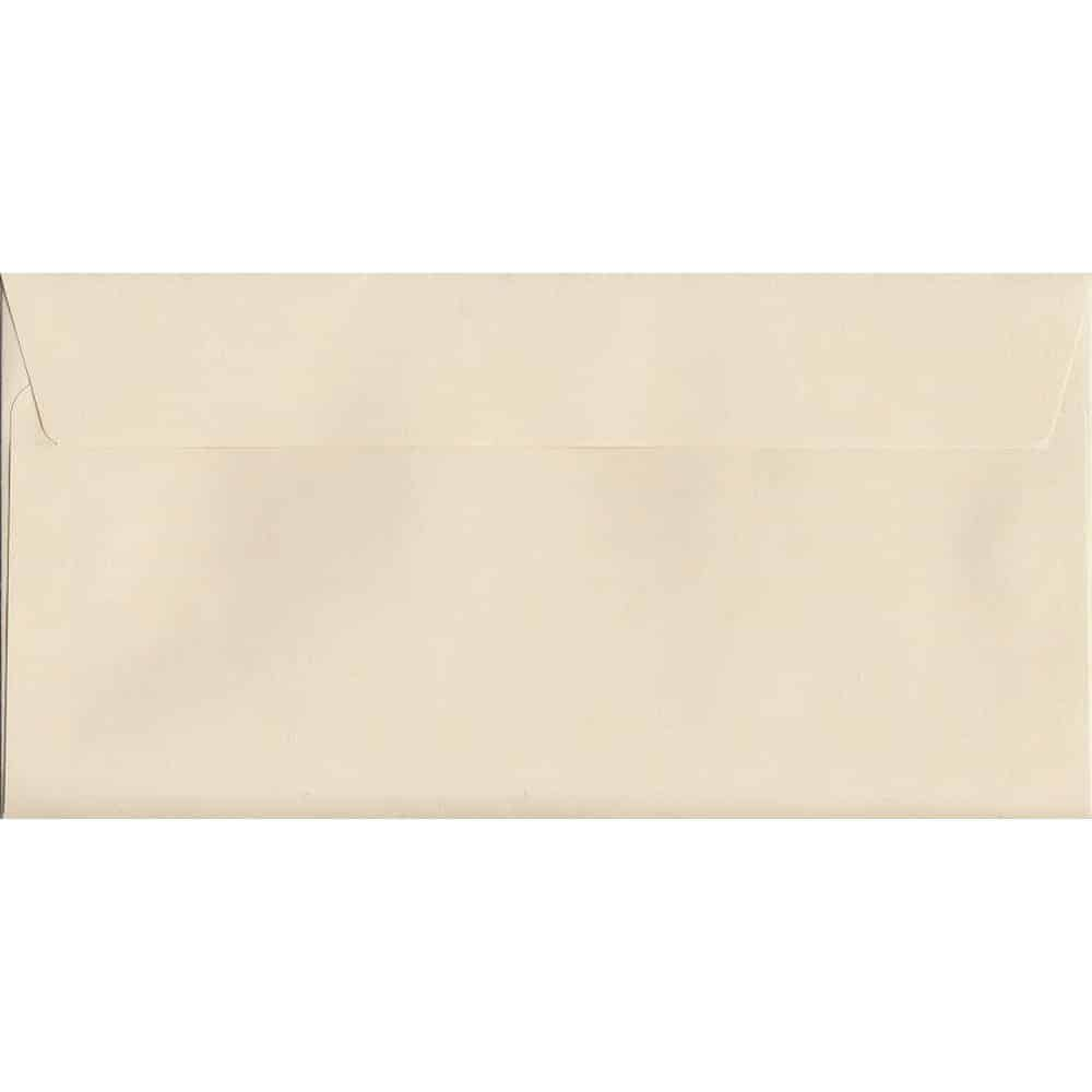 Clotted Cream Peel/Seal DL 114mm x 229mm 120gsm Luxury Coloured Envelope