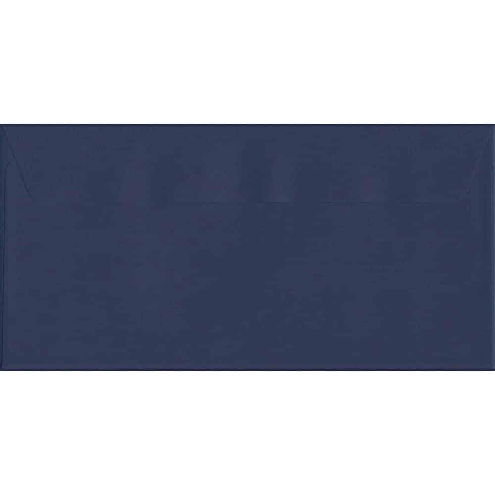 Oxford Blue 114mm x 229mm 120gsm Peel/Seal DL/Tri-Fold A4 Sized Envelope