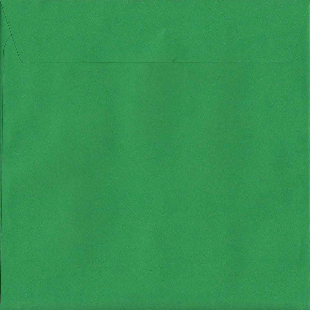 Holly Green Peel/Seal S3 160mm x 160mm 120gsm Luxury Coloured Envelope