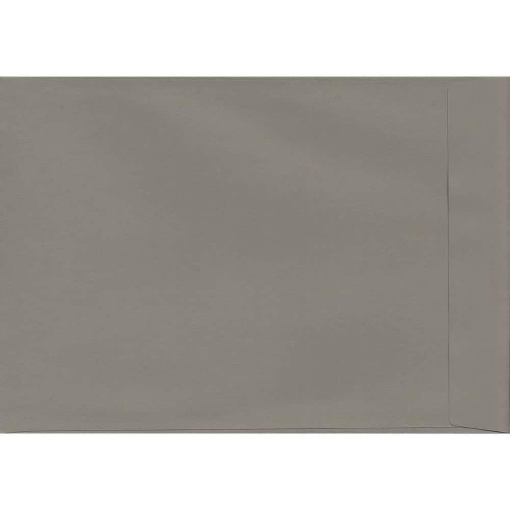 50 A4 Grey Envelopes. Storm Grey. 229mm x 324mm. 120gsm paper. Peel/Seal Flap.
