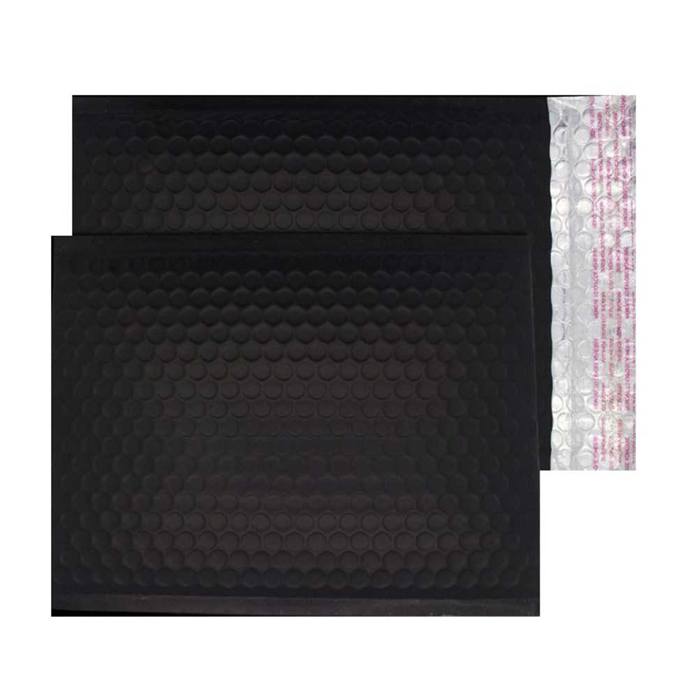 Charcoal Black Matt 250mm x 180mm Bubble Lined Envelopes (Box Of 100)