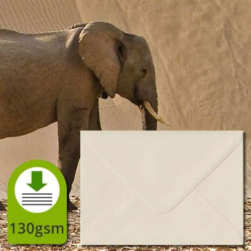Ivory Cream Luxury Envelopes