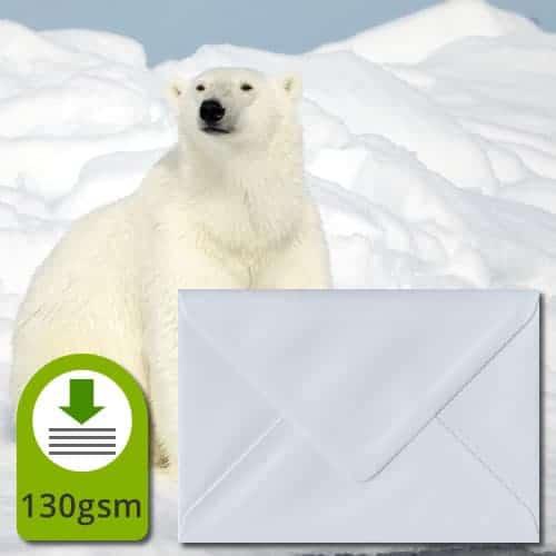 White 130gsm Envelopes