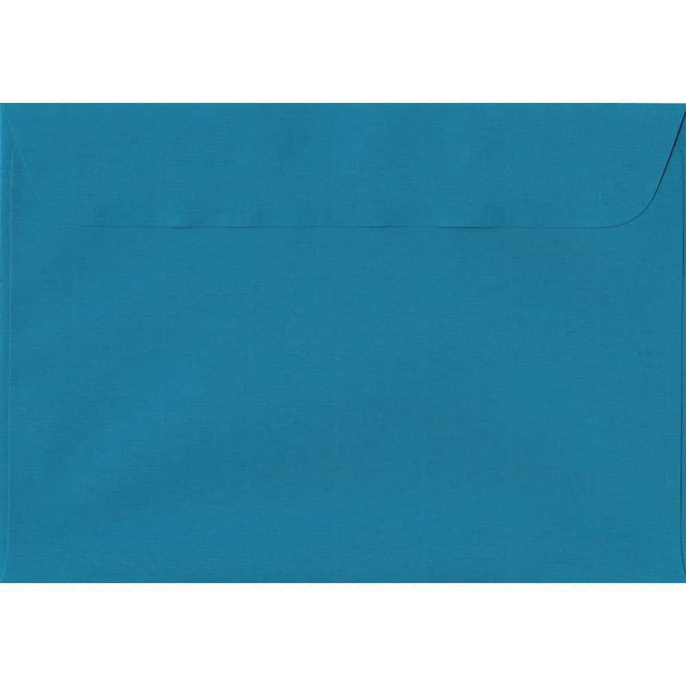 162mm x 229mm Petrol Blue Laid Envelope. C5/A5 Paper Size. Peel/Seal Flap. 100gsm Paper.