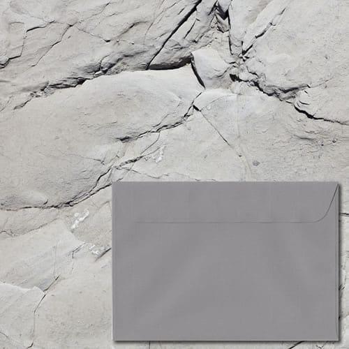 Grafito Grey Laid Envelopes