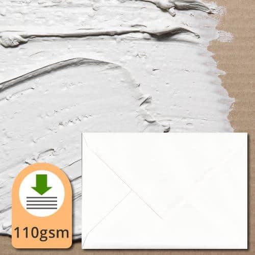 Alabaster White Envelopes