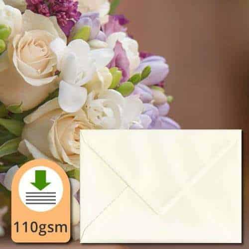 Magnolia Cream Textured Envelopes