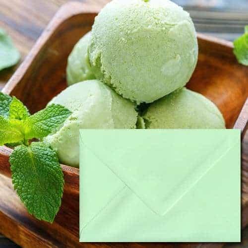 Mint Green Colour Envelopes