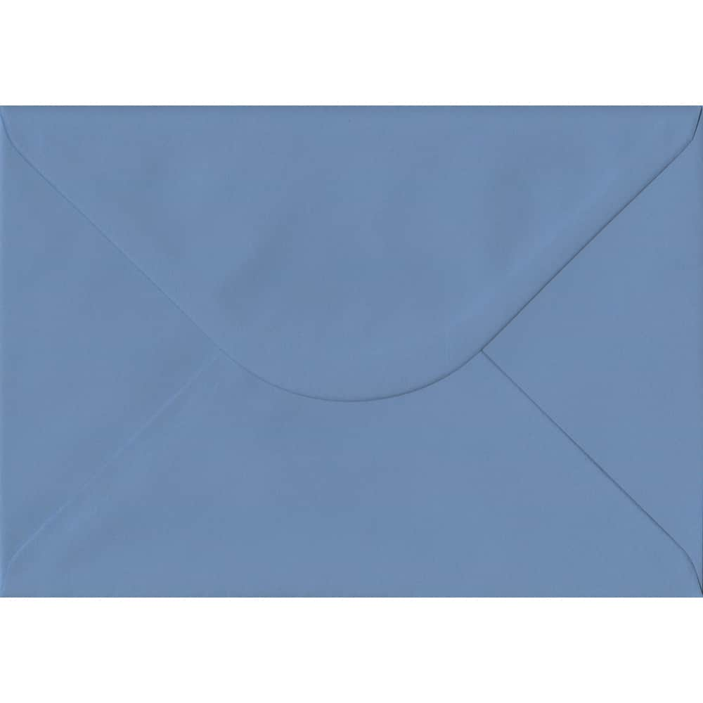 162mm x 229mm French Blue Extra Thick Envelope. C5 (to fit A5) Size. Gummed Flap. 135gsm Paper.