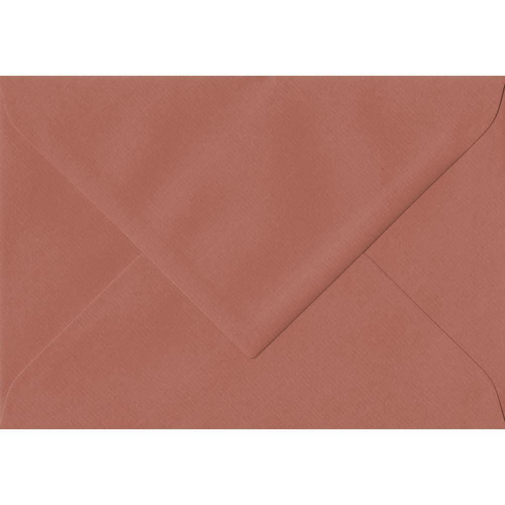 135mm x 191mm Copper Laid Envelope. 5x7 Paper Size. Gummed Flap. 100gsm Paper.