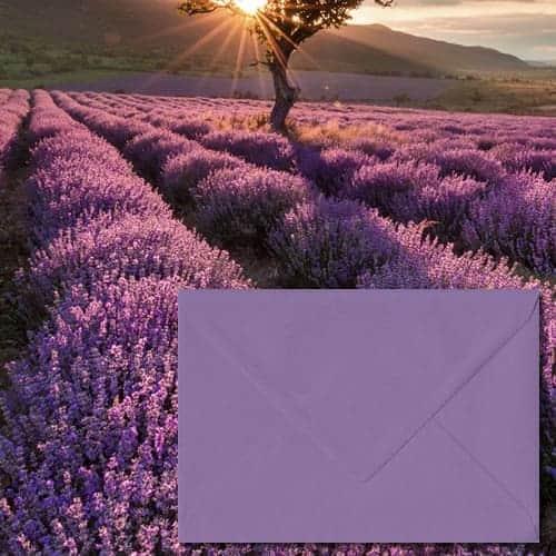 Indigo Envelopes