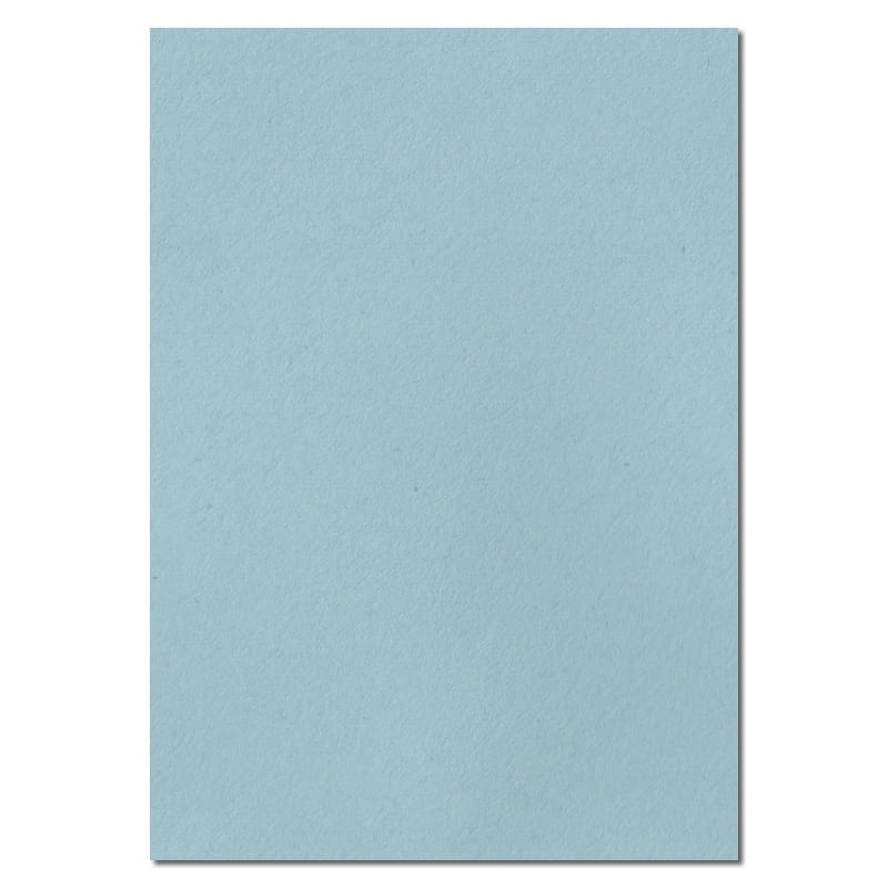 297mm x 210mm Baby Blue Solid Paper. A4 Sheet Size. 100gsm Blue Paper.