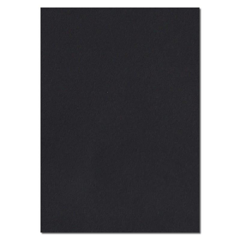 297mm x 210mm Black Solid Paper. A4 Sheet Size. 100gsm Black Paper.