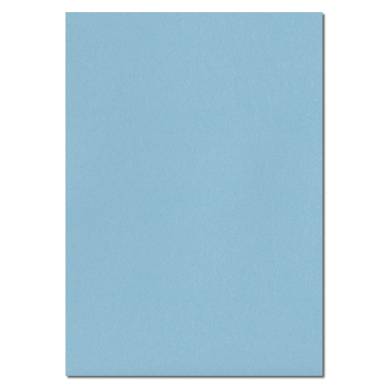 297mm x 210mm Cotton Blue Extra Thick Paper. A4 Sheet Size. 120gsm Blue Paper.